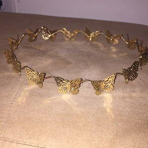 Butterfly Flower Crown 